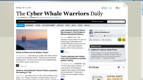 The Cyber Whale Warriors Daily