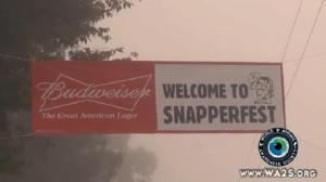 Budweiser Supports Snapperfest