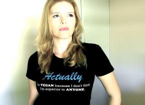 Awesome vegan shirt!