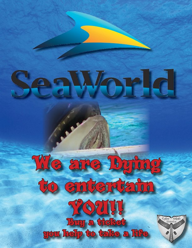 SeaWorld is dying to entertain you!