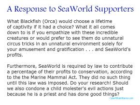 SeaWorld vs Blackfish